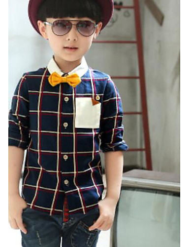 Boys' Others Color Block Tee,Others Fall Short Sleeve