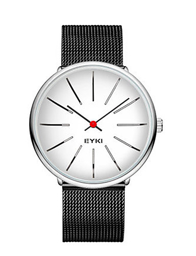 Men's Fashion Watch Quartz Water Resistant / Water Proof Alloy Band Black Silver Gold