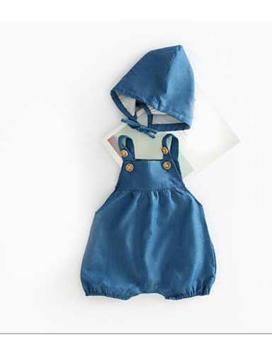 Boys' Solid Overall & Jumpsuit Summer