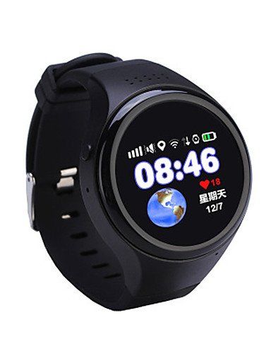 Men's Smart Watch Fashion Watch Digital Water Resistant / Water Proof Rubber Band Black Blue Pink