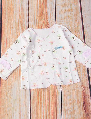 Baby Children's New Baby Baby Shower Daily Polka dots Cartoon Image Flower Sleepwear All Seasons