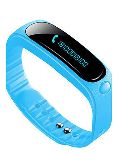 Men's Smart Watch Fashion Watch Digital Water Resistant / Water Proof Rubber Band Black Blue Orange Green Pink