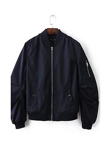 Men's Sports Going out Daily Casual Punk & Gothic Spring Fall Jacket