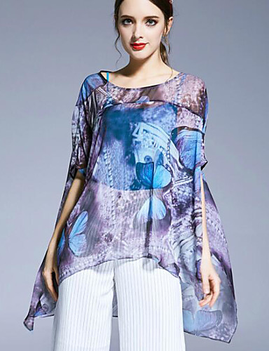 Women's Daily Casual Spring Summer Blouse