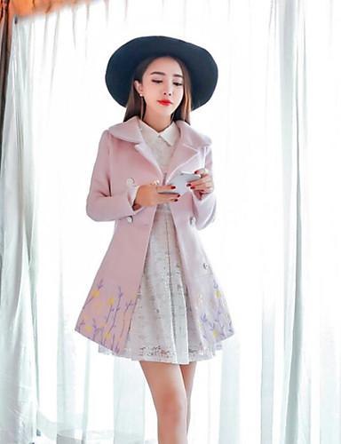 Women's Coat - Solid, Print
