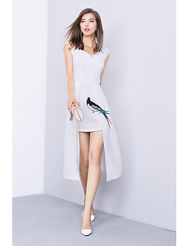 Women's Going out Daily Simple A Line Dress