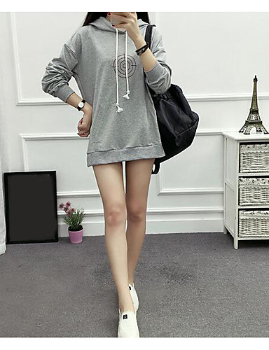 Women's Running Hoodie Fashion Hooded Micro-elastic Cotton Long Sleeve Fall
