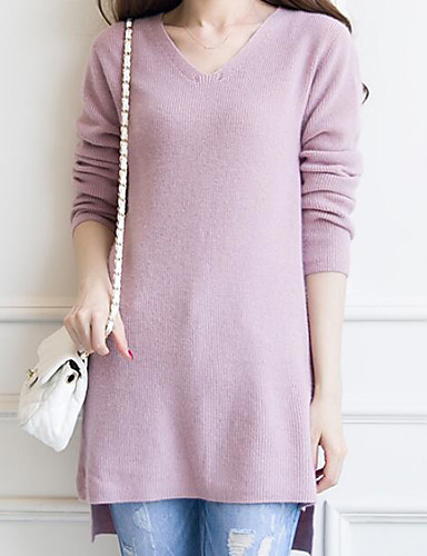 Women's Going out Casual Long Pullover