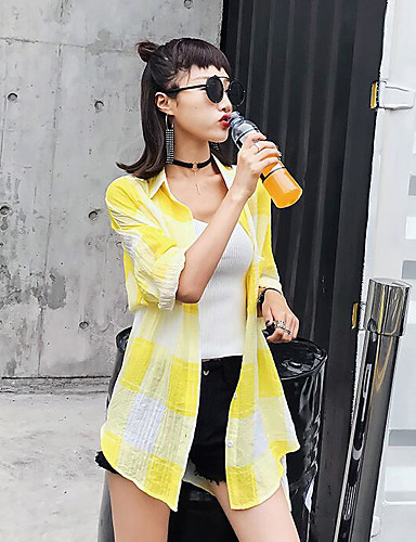 Women's Going out Casual Summer Trench Coat