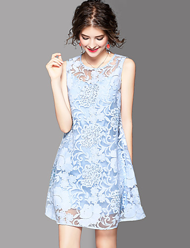 Women's Daily Work Holiday Going out Vintage Cute A Line Loose Dress