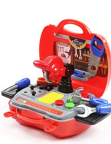 voordelige Speelgoedgereedschap-Bouwgereedschap Toy Keuken Sets Doen alsof-spelletjes Jongens Veiligheid Simulatie Kinderen