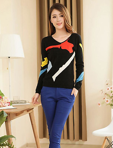 Women's Daily Casual Regular Pullover