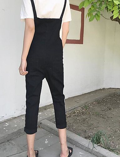 Women's Casual Skinny Slim Pants - Solid Colored High Waist