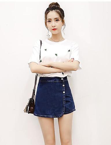 Women's High Waist Micro-elastic Straight Pants,Street chic Straight Solid