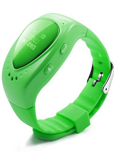 Kid's Smart Watch Fashion Watch Digital Silicone Band Blue Green Pink