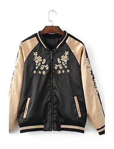 Women's Sports Going out Casual Spring Fall Jacket