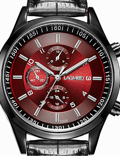 Men's Wrist Watch Casual Watch Stainless Steel Band Casual / Fashion / Dress Watch Black / ETA 377A