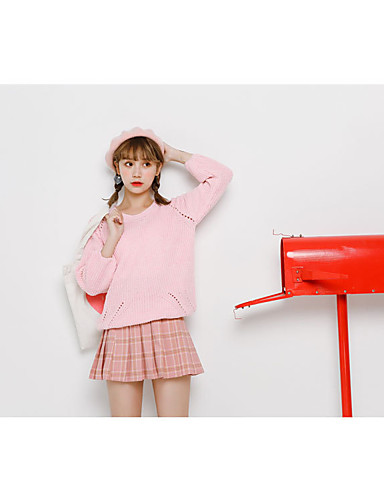 Women's Going out Daily Cute Short Pullover