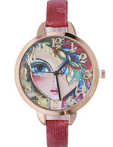 Women's Quartz Wrist Watch Casual Watch Leather Band Bohemian Fashion Black Red Brown Gold Navy Rose