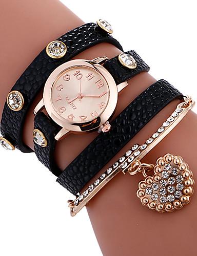 Mulheres Único Criativo relógio Bracele Relógio Relógio de Moda Relógio Esportivo Relógio Casual Quartzo Venda imperdível PU Banda