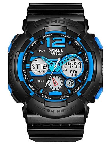 SMAEL Pánské Sportovní hodinky Náramkové hodinky Digitální 50 m Žhavá sleva  PU Kapela Analog - Digitál 98e2301b19