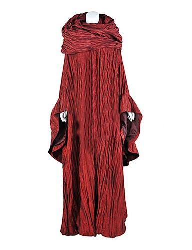 billige Cosplay og kostumer-Cosplay Game of Thrones Cosplay Kostumer Maskerade Voksne Dame Halloween Karneval Festival / Højtider Elastin Tactel Karneval Kostume Anden Vintage