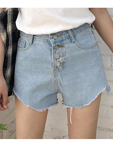 Damen Einfach Mittlere Hüfthöhe Mikro-elastisch Breites Bein Schlank Hose Solide