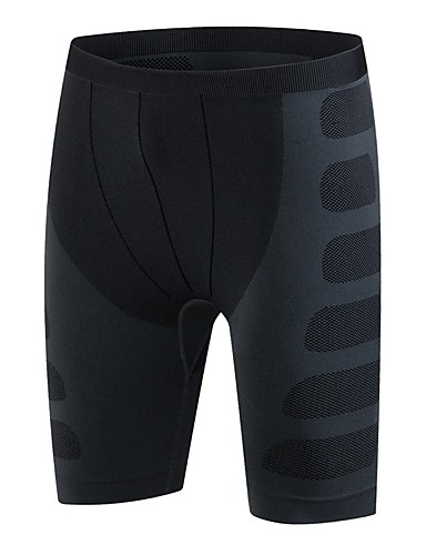 a9530b4d378920 Men s Running Tight Shorts Black+Gray Green and Black Black   Red Sports  Solid Colored Elastane Shorts Exercise   Fitness Running Fitness Activewear  ...