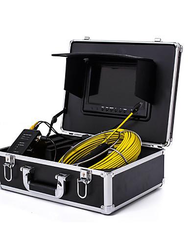 """povoljno Elektrika i alati-endoskop cjevovoda inspekcijski sustav 7"""" 30m odvod kanalizacije vodootporni fotoaparat s 12 LED svjetla"""