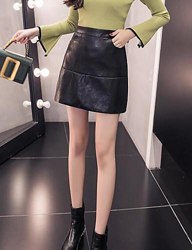 Damen Über dem Knie Röcke