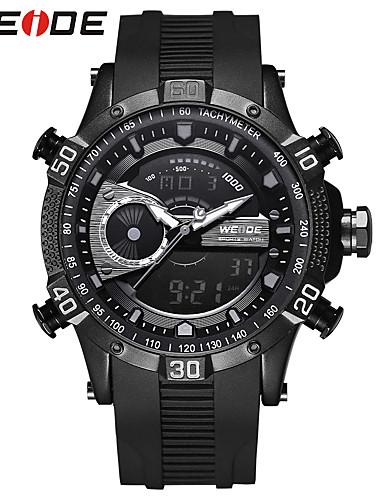 WEIDE Herrn Digitaluhr Armbanduhren für den Alltag Sportuhr Modeuhr Kleideruhr Armbanduhr Japanisch digital Kalender Wasserdicht Duale