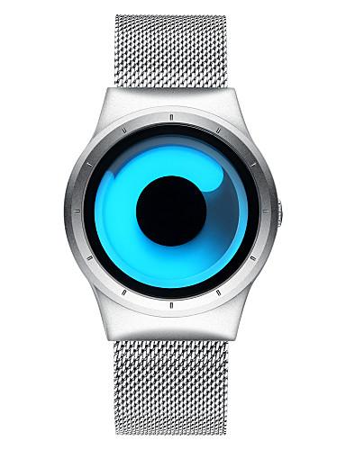 BIDEN Męskie Kwarcowy Zegarek na nadgarstek Japoński Wodoszczelny Stal nierdzewna Pasmo Luksusowy Na co dzień Unikalny twórczy zegarek