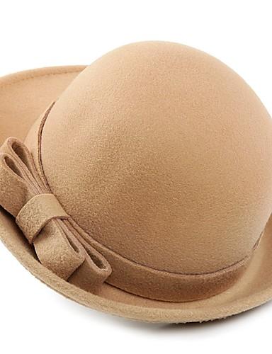Damskie Modne / Czysta Kolor Bucket Hat - Poliester, Jendolity kolor