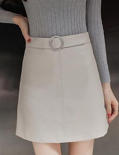 Damen Street Schick Mini Röcke Bodycon