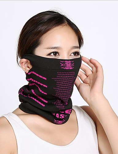 cheap Cycling Clothing-Neck Gaiter Neck Tube Pollution Protection Mask Warm Cycling Bike / Cycling Black / Green Black / Blue Black / Orange Polyester Winter for Men's Women's Adults' Ski / Snowboard Outdoor Exercise