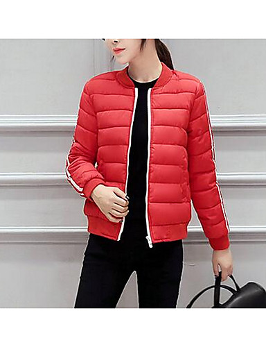 Women's Casual Padded - Solid Colored