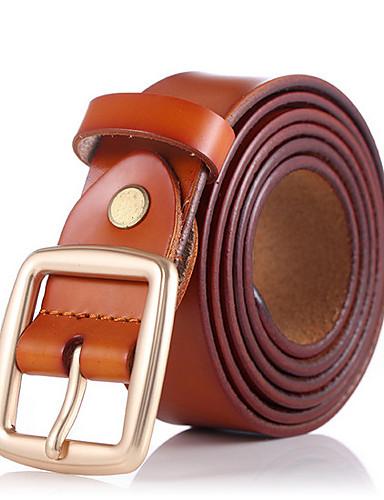 رخيصةأون أسعار تصل إلى 9.99$-حزام خصر لون سادة رجالي, عمل