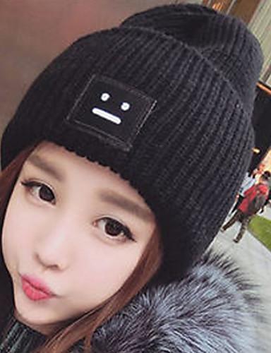 שחור בז' אפור כובע עם שוליים רחבים כותנה חורף סתיו יום יומי