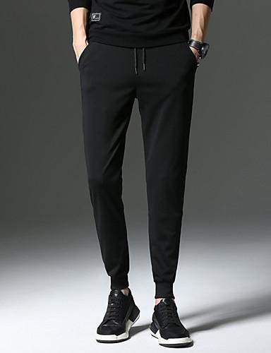 Pánské Vintage Kalhoty chinos Kalhoty Jednobarevné