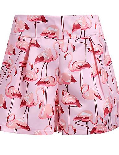 Damskie Rozmiar plus Krótkie spodnie Spodnie Geometryczny