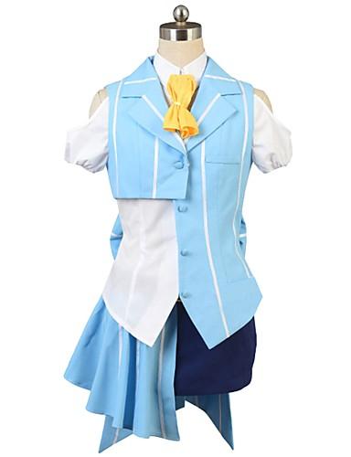 povoljno Anime kostimi-Inspirirana Macross Frontier Cosplay Anime Cosplay nošnje Japanski Cosplay Suits Other Kratkih rukava Kravata / Shirt / Top Za Muškarci / Žene / Šešir