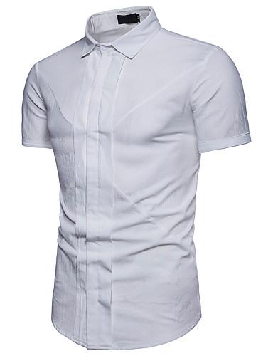 אחיד עסקים חולצה - בגדי ריקוד גברים כותנה