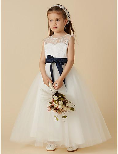 Short Wedding Dresses with Lavender Sash