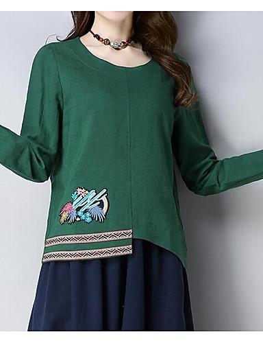 T-shirt Damskie Moda miejska Jendolity kolor