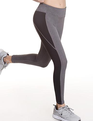 olcso Futóruházat-Női Kollázs Tajice za trčanje Sport Elasztán Kerékpározás Tights Leggingek Jóga Fitnesz Edzőterem edzés Sportruházat Gyors szárítás Lélegzési képesség Mekoća Nyúlós