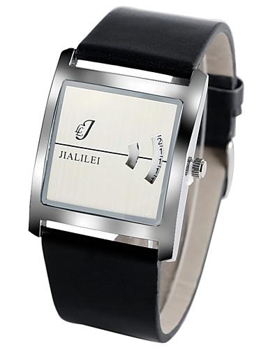 herrn armbanduhr quartz leder schwarz chronograph armbanduhren f r den alltag digital camuflaje. Black Bedroom Furniture Sets. Home Design Ideas
