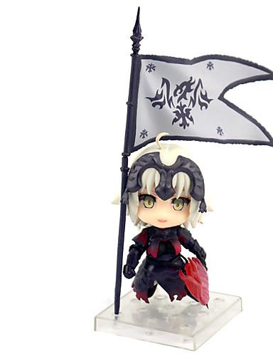 halpa Cosplay ja rooliasut-Anime Toimintahahmot Innoittamana Fate / stay night Jeanne d'Arc PVC 10 cm CM Malli lelut Doll Toy