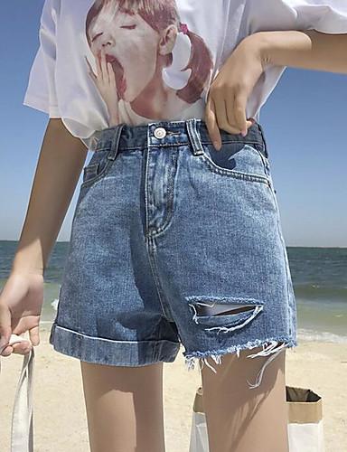 Pentru femei Șic Stradă Pantaloni Scurți Pantaloni Mată