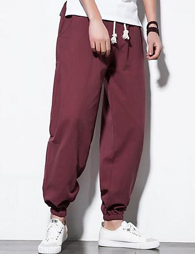 Bărbați Vintage Pantaloni Chinos Pantaloni Mată