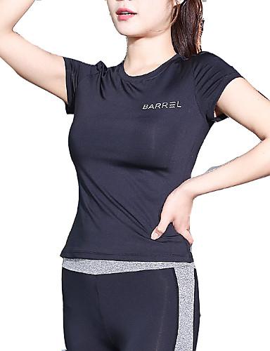 tricoul sport pentru femei - gât rotund geometric